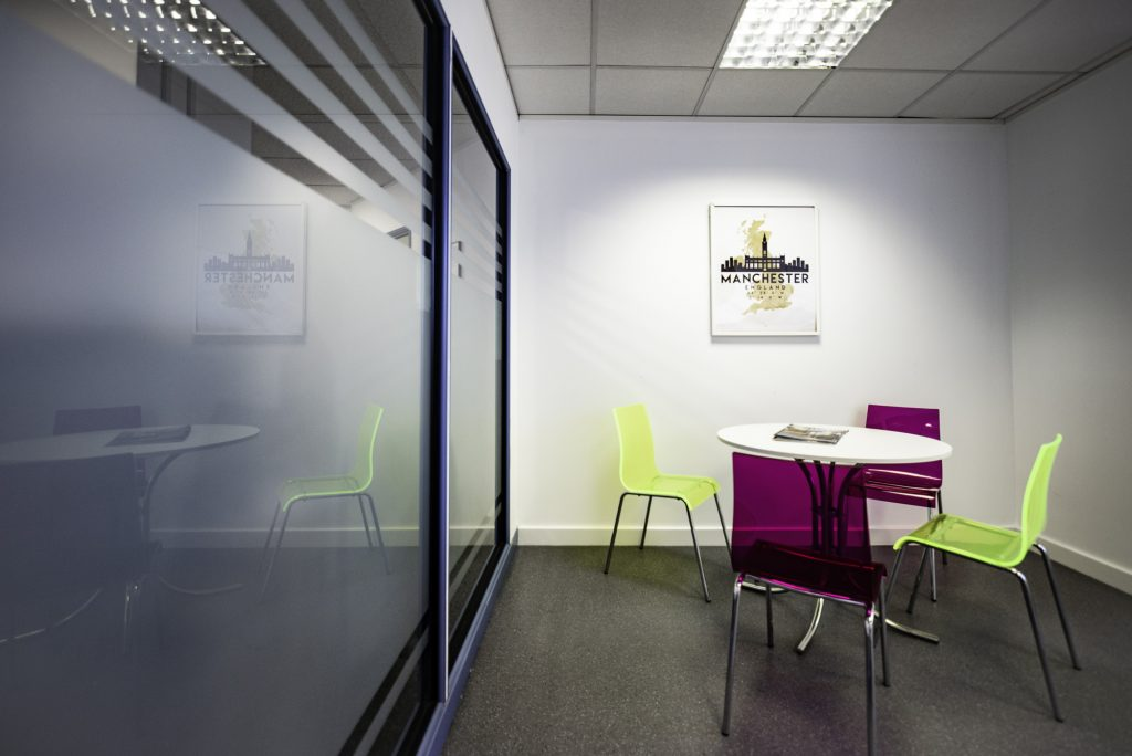 Citibase Manchester Old Trafford Office breakout space 2