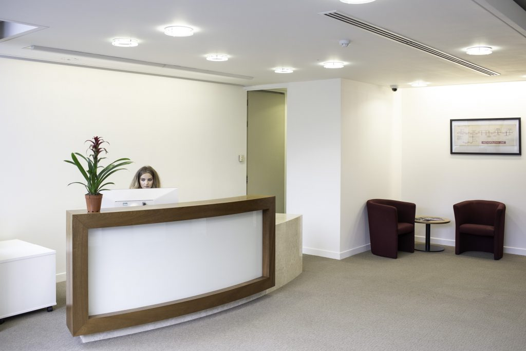 Citibase Uxbridge Reception